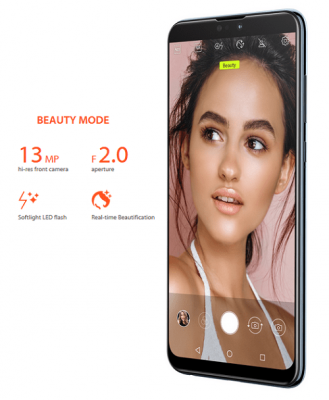 Beauty mode Asus Zenfone max pro m2