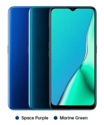 Desain Oppo A9 2020