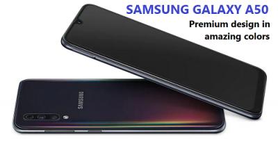 Desain Samsung galaxu A50