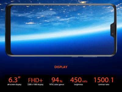 Display Asus zenfone max pro m2
