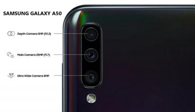 Kamera Samsung Galaxy A50