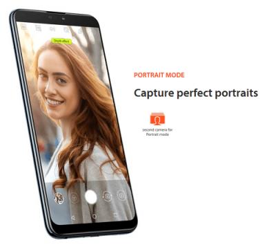 Portrait mode kamera Asus Zenfone max pro m2