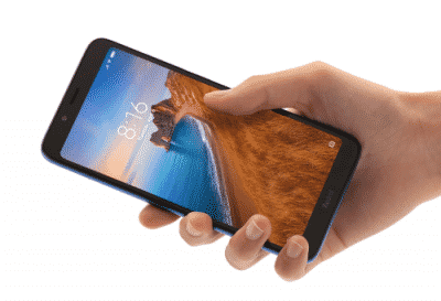 Xiaomi Redmi 7A, Desain genggaman tangan pas