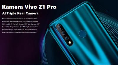 kamera belakang Vivo Z1 Pro