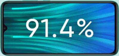 layar Xiaomi Redmi Note 8 Pro