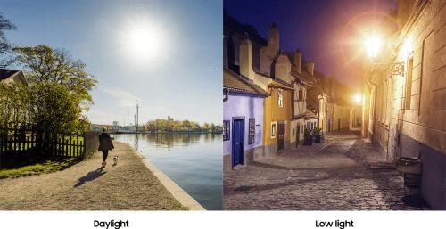 Kamera siang dan malam Samsung Galaxy A30