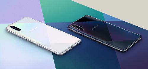 Layar Samsung A50s